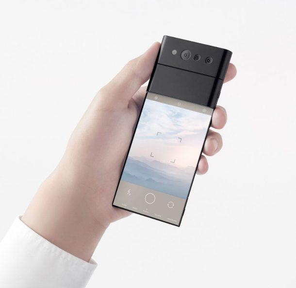 smartphone pieghevole Nendo