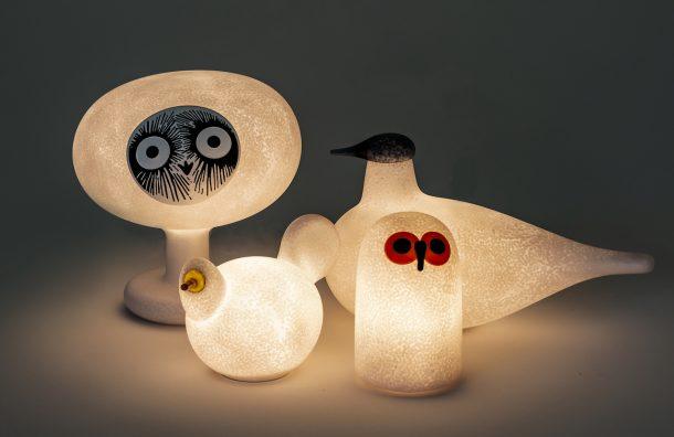 Le lampade Linnut di Magis e Iittala