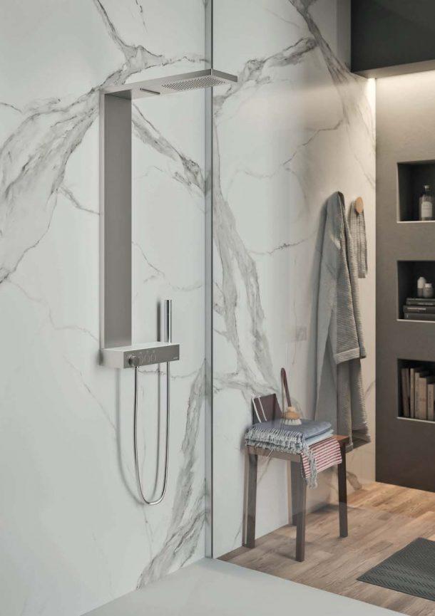 Il sistema doccia Icon Taps e Icon Column di Gruppo Geromin