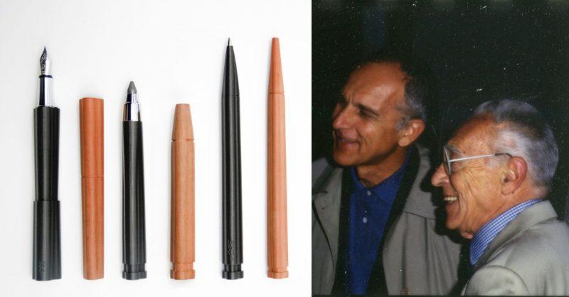 CENTO3: il set da scrittura disegnato da Achille Castiglioni e Gianfranco Cavaglià nel 2001
