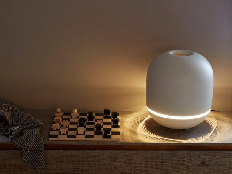 eve di Tubes, il radiatore portatile con lampada