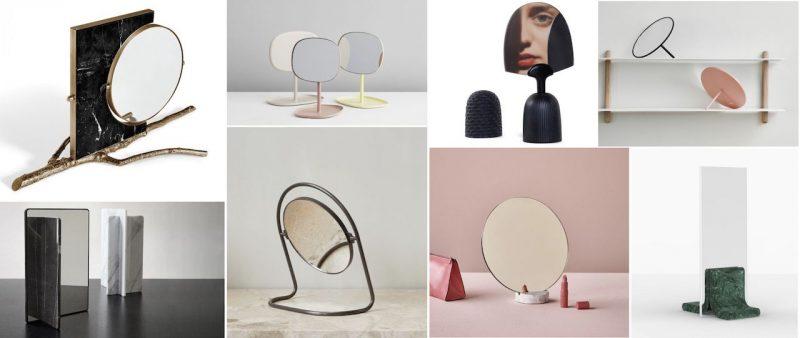 specchi da tavolo di design