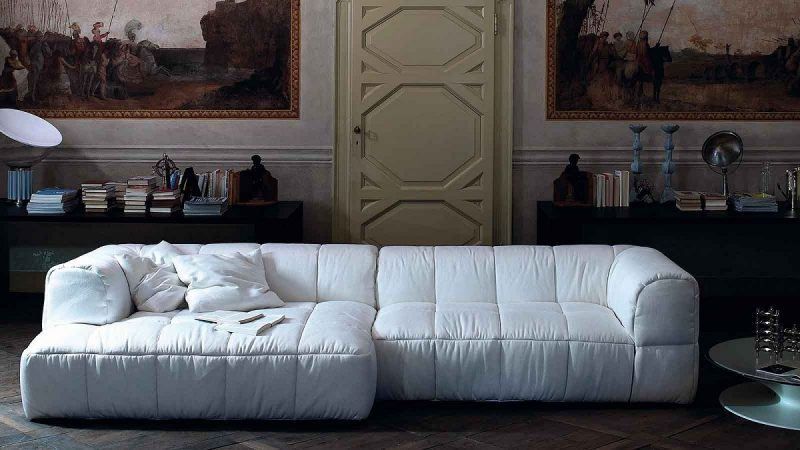 divano Strips di Cini Boeri