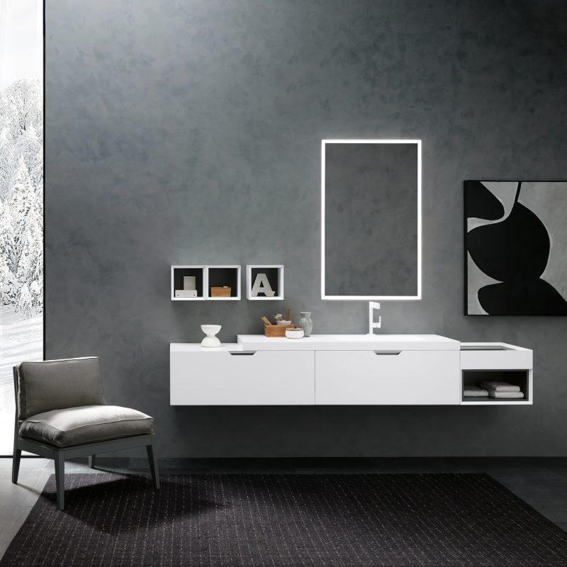 collezione di mobili da bagno QUARANTA5 di Archeda