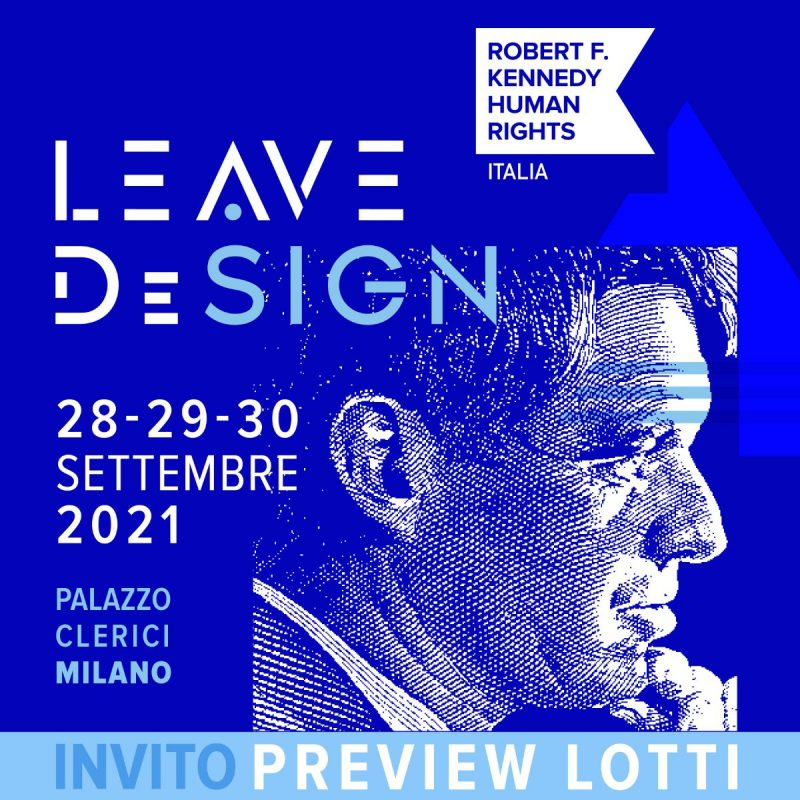 Leave DeSign di RFK Human Rights Italia